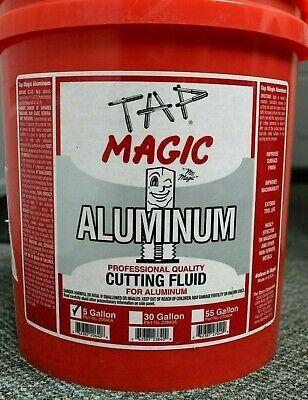 Tap Magic 5 Gal. Aluminum Cutting Fluid For Aluminum Magnesium Soft Metals