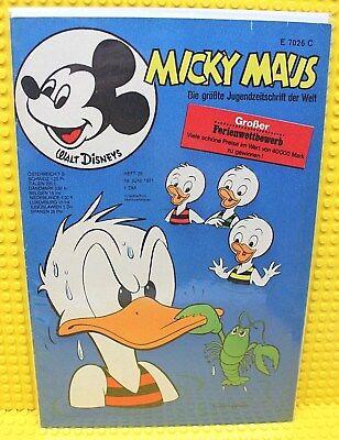 Walt Disney® Micky Maus Nr 25 von 1971 mit Gutschein