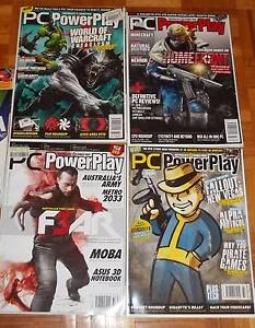 Bulk 2010 PC PowerPlay magazines + Free PC Authority magazine Cheltenham Hornsby Area Preview