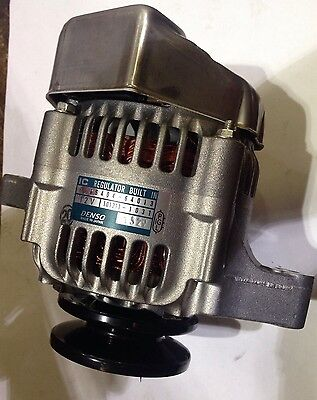 Denso  Kubota 40 Amp Alternator With Built In Regulator 3 Pin Plug Included New