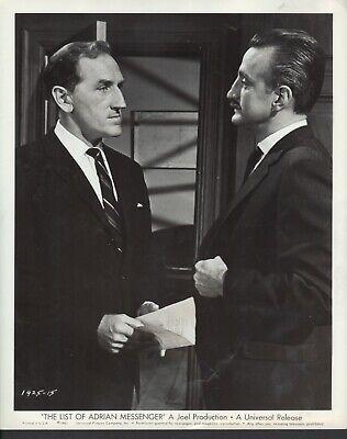 The List of Adrian Messenger (1963) 8x10 black & white movie photo #15