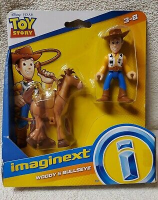 NEW Disney Toy Story 4 the Movie Imaginext Bullseye & Woody Set Pixar Lot of two