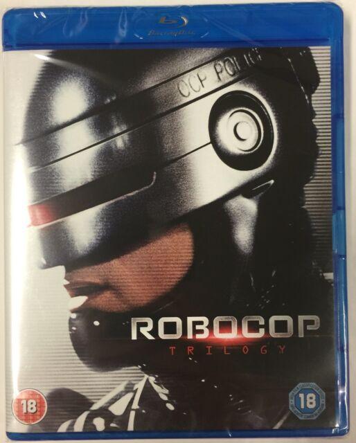 Robocop Trilogy Blu-Ray Box Set **Region Free**