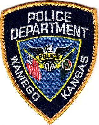 Wamego Police Patch Kansas KS NEW !!!