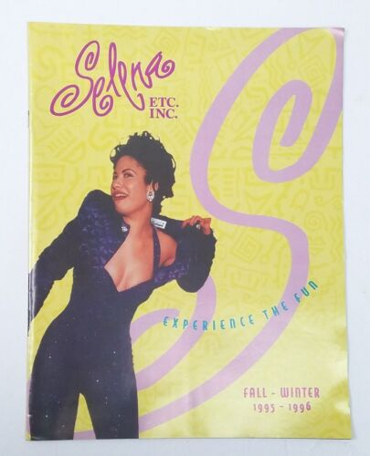RARE SELENA ETC., INC. Salon & Boutique Fall Winter Clothing Catalog 1995-1996