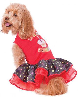 Barkday Haustier Happy Birthday Tütü Kleid Mädchen Hund Welpe - Happy Kostüm Haustier