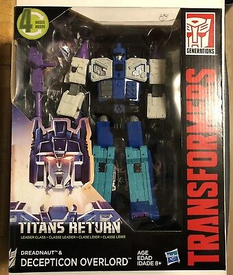 Transformers Titans Return Overlord Generations Leader Class G1 Masterforce