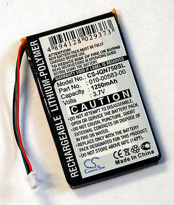 New Battery Garmin Nuvi 750 755 755T Gps 3 7V 1250Mah 010 00583 00 Cs Iqn750sl