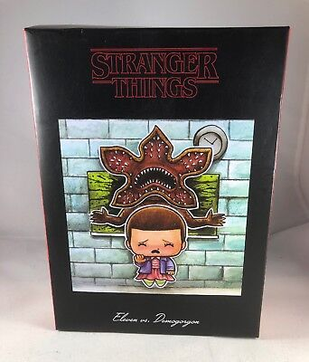 Lootcrate Stranger Things Exclusive Vinyl Toy Eleven Variant Loot Crate Like New