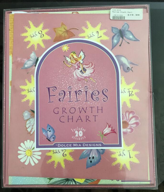 Fairies Growth Chart Dolce Mia Designs