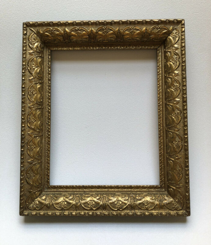"Beautiful, Ornate, Highly Detailed Antique Gold Frame - Holds 8""x 10"" Image"