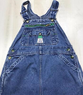 Vintage Overalls & Jumpsuits Vintage Lady Liberty Women's Blue Denim Bib Overalls Size 8 Regular USA Made $42.99 AT vintagedancer.com