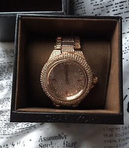 Michael Kira Rose Gold Watch