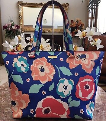 New Kate Spade New York Grant Street Floral Jules,Cheery Floral MSRP $229.99