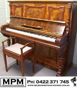 German made Richard Lipp piano - FREE delivery, tuning, warranty* Bayswater North Maroondah Area Preview
