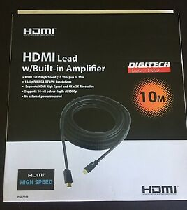 HDMI LEAD w/BUILT IN AMPLIFIER Gillieston Heights Maitland Area Preview