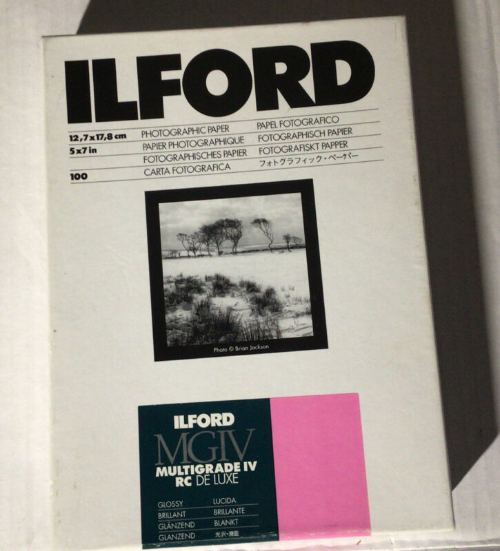 Ilford Photographic Paper 5X7 50 Sheets