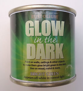 details about glow in the dark paint rust oleum bright green 125ml. Black Bedroom Furniture Sets. Home Design Ideas