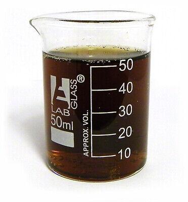 Beaker - 50ml Borosilicate Glass 10ml Graduation Low Form - Pack Of 12