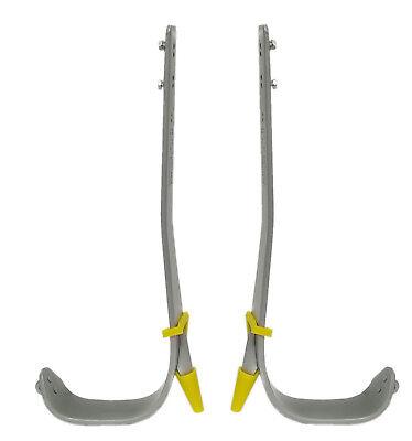 Buckingham Steel Climbers with Pole Gaffs