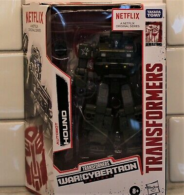 Transformers WFC Autobot HOUND, Netflix Animated Deluxe Class, MISB/New (2020)