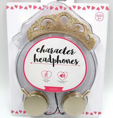 - Princess Tiara Headphones for Kids / Girls by Vivitar (iPhone iPad Tablet MP3)