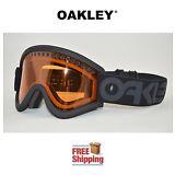 OAKLEY® E FRAME® SNOW GOGGLES DUAL LENS SNOWBOARD SKI BLACKOUT W/ PERSIMMON NEW