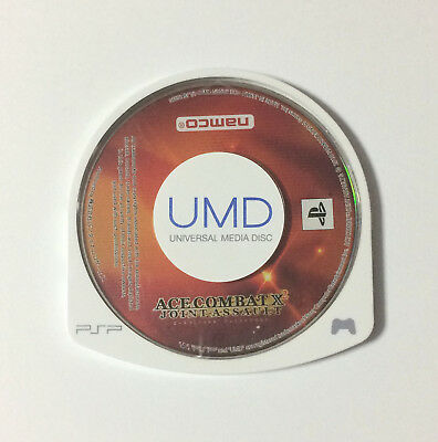USED PSP Disc Only Ace Combat X2 Joint Assault JAPAN Sony PlayStation Portable