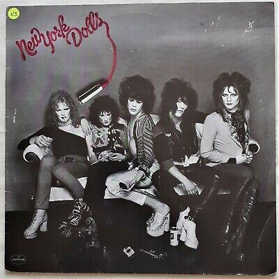 "*New York Dolls* Self Titled, Dutch Copy 6336 280 (p) 1973 12"" Vinyl Album EX/VG"