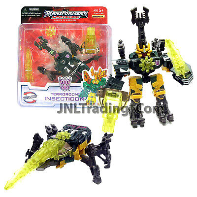"""Year 2005 Transformers UNIVERSE Scout Class 5"""" Figure Terrorcon INSECTICON"""