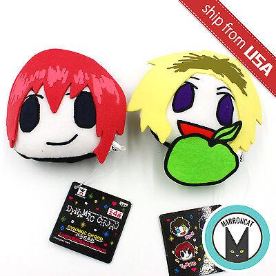 Lot 2 Japan Limited Dynamic Chord Yorito & Nal Plush Keychain Knight Art (Dynamic Plush)