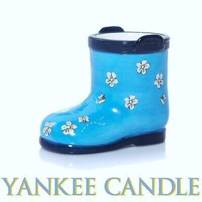 Yankee Candle GARDEN BOOT Tea Light Votive Candle Holder BRAND NEW