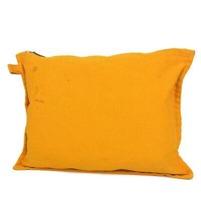 146a488b9fa5 Auth HERMES Bora Bora Cotton Canvas Cosmetic Pouch Clutch Bag F S 2929