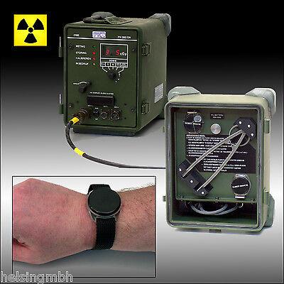 FAG Kugelfischer, TDQ7050-IM7051, Radiation Surveillance Set, Strahlungssystem
