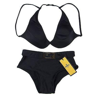 Auth FENDI Bikini Swimsuit Bathing Suit Sz 40 US M UNUSED F/S 18831eSaM