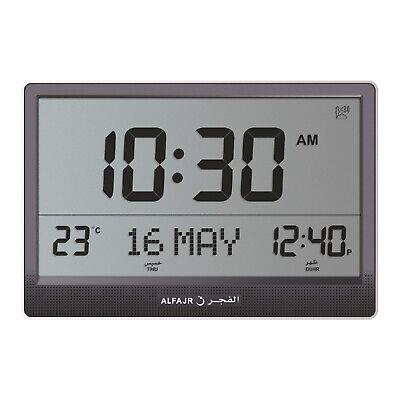 Alfajr Jumbo Automatic Worldwide Digital Azan Nimaz Prayer Wall Clock CJ-17