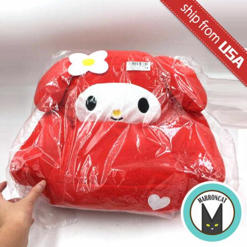 Japan Sanrio My Melody Heart Embroidered Mini Sofa for Doll Plush Stuffed Kawaii