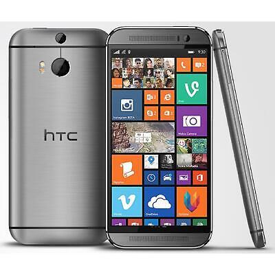 HTC One M8 6995L 32GB 4G LTE 5in. Gray Verizon Smartphone