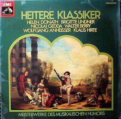 Heitere Klassiker - DONATH LINDNER GEDDA BERRY ANHEISSER HIRTE - Doppel-LP - FOC