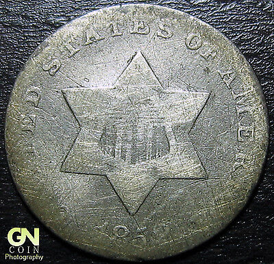 1852 3 Cent Silver Piece  --  MAKE US AN OFFER!  #Y5459