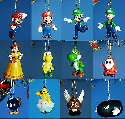 CHRISTBAUMSCHMUCK Party Home Decor NINTENDO Super Mario Bros Set 12 pcs *R1to12 ()