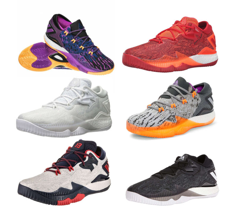 new products b7245 c0fec Adidas Crazylight Boost Low 2016 Mens Basketball Shoes NEW