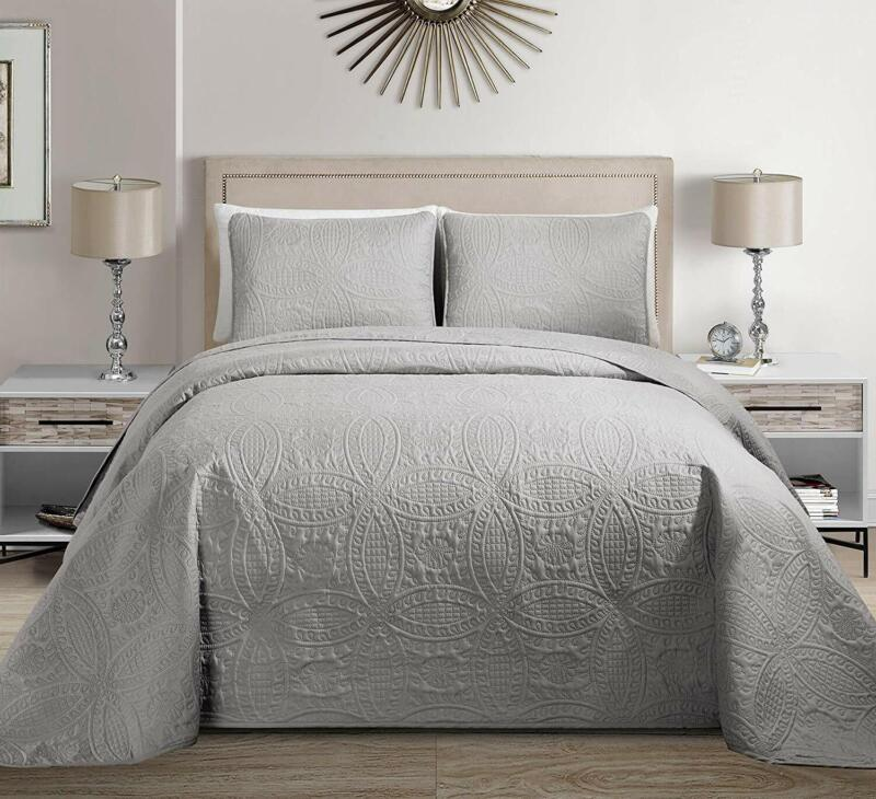 Fancy Collection 3pc King/California King Embossed Oversized