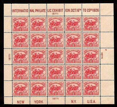 630 White Plains Souvenir Sheet  Mint, og, Fresh and Never Hinged