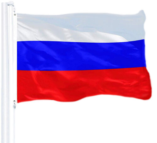 G128 - RUSSIA flag RUSSIAN NEW 3x5 ft 150D polyester BANNER Country flag