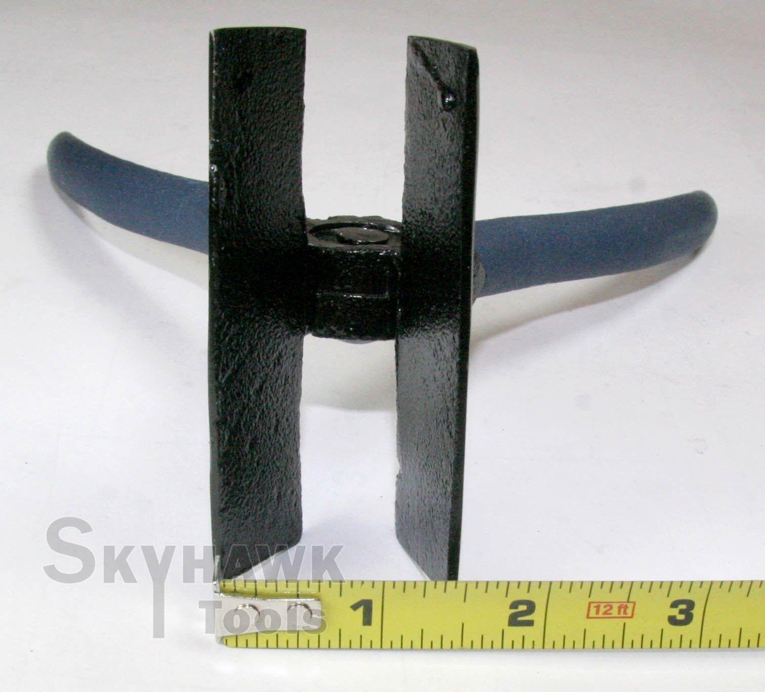 "New 3-1//4 Flat Jaw Sheet Metal Bending Folding Welding 8/"" Length Pliers"