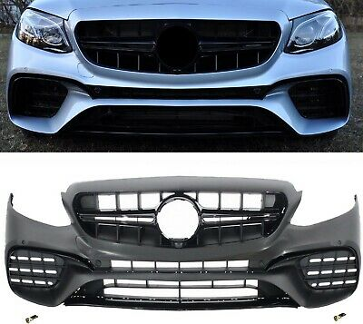 Für Mercedes-Benz E-Klasse W213 16+ E63 AMG Look Stoßstange Diffusor Felge Grill