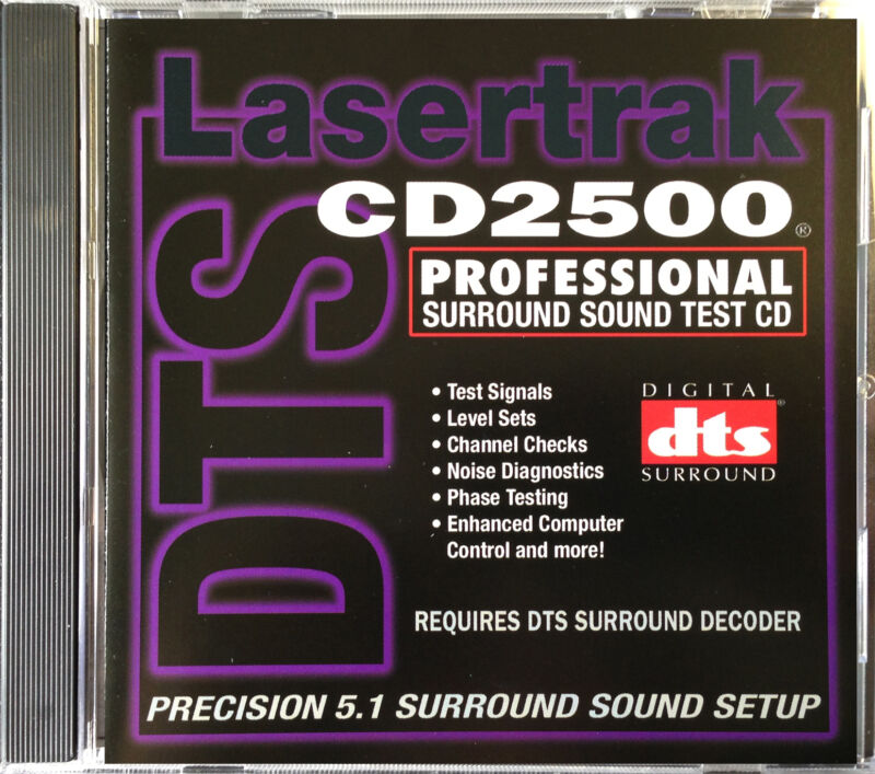 Surround Sound Setup, Test  &  REFERENCE DISC CD NEW