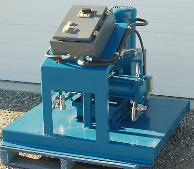 RECONDITIONED 5 HP HYDRO-PAC OIL-FREE, WATER-COOLED GAS COMPRESSOR
