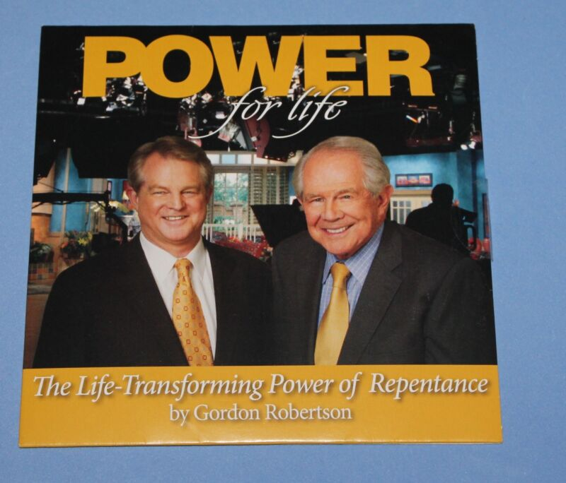 Gordon Robertson - Power of Repentance CD